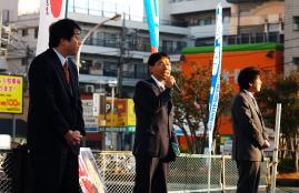 街頭演説活動