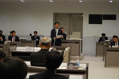 3月23日、都議会予算委員会で民主党を代表して討論しました